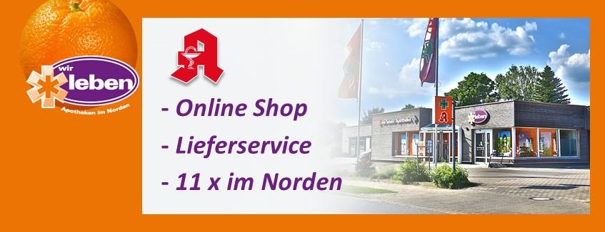 Apotheke und online Shop